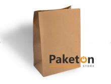 Пакет бумажный на вынос большой 340*250*140