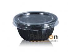 Упаковка ПС-390 (прозрачная крышка + черное дно)