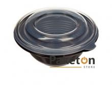 Суповая емкость с кр. ПР-МС-350 (черная/прозрачная)
